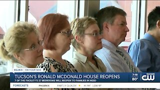 Ronald McDonald House reopens