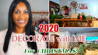2020 CHRISTMAS DECORATE WITH ME PT. 2 | NEW DECORATE WITH ME + DECORATING MY CHRISTMAS TREE & MORE