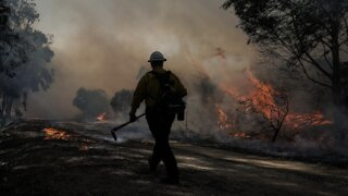 Wildfires In California Drive 100,000 People From Their Homes