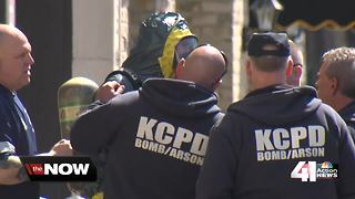 Plaza suspicious package contained energy drinks