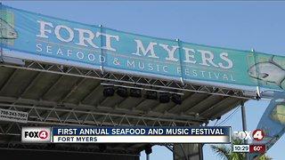 First annual Seafood and Music Festival held in Fort Myers