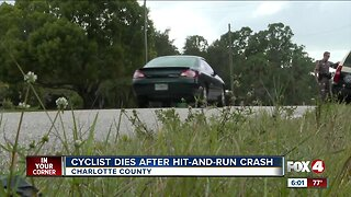 Cyclist dies after hit-and-run crash