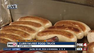 Currywurst food truck serves up SWFL - Video