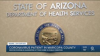 Arizona coronavirus patient remains in stable condition