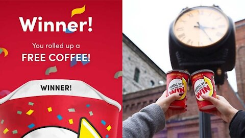 Here's How To Play Tim Hortons' Roll Up To Win Now That It's Completely Digital