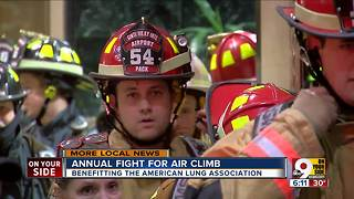 Firefighters support American Lung Association through Fight for Air Climb - Video