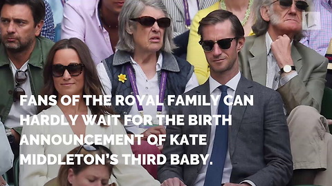 Days Before Birth of Royal Baby, News from Pippa Leaves Fans Jumping for Joy