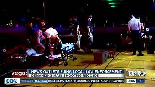 News outlets file lawsuits for shooting info - Video