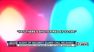 Audio of security guard call released - Video