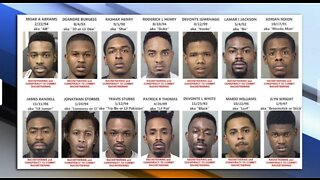 14 suspected gang members arrested in Palm Beach County crime crackdown