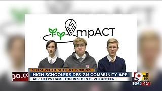 Badin students design community app, win contest - Video