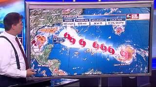 Hurricane Irma Update | Florida's Most Accurate Forecast with Denis Phillips on Tuesday at 7PM - Video