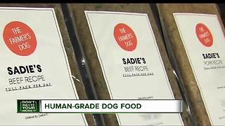 Human grade dog food - Video
