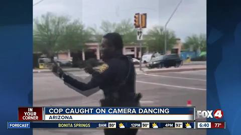 Arizona Cop caught on camera dancing