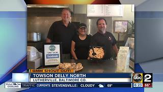 Good morning from Towson Delly North! - Video