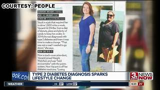 Council Bluffs woman loses half her weight