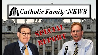 Interview with George Neumayr about the BIden-Bergoglio Connections
