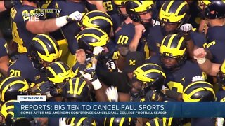 Reports: Big Ten to cancel fall sports