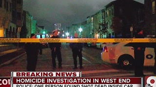 PD: Man shot to death in West End