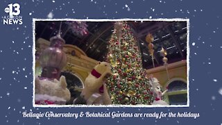 Bellagio Conservatory ready for the holidays