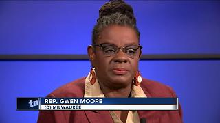 Rep. Gwen Moore explains her call for Trump's removal - Video