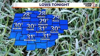 Freeze warning tonight. - Video