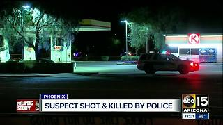 Phoenix police officers involved in deadly shooting in north Phoenix - Video