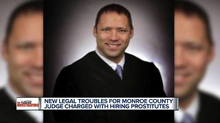 More legal troubles for Monroe County judge charged with hiring prostitutes - Video