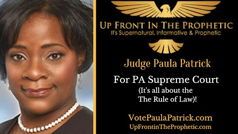 Judge Paula Patrick ~ It's ALL About The Rule of Law!