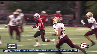 HIGHLIGHTS: Ritter defeats Brebeuf 21-14 - Video