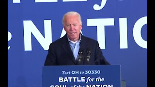 Biden campaign in several states ahead of Election Day