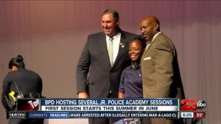 BPD accepting applications for Junior Police Academy sessions