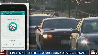 Free apps to help your Thanksgiving travel