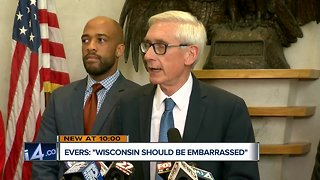 'Wisconsin should be embarrassed by this': Evers will ask Walker to veto lame-duck legislation - Video