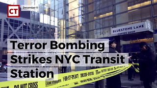 Bomber Strikes in NYC Transit Station - Video