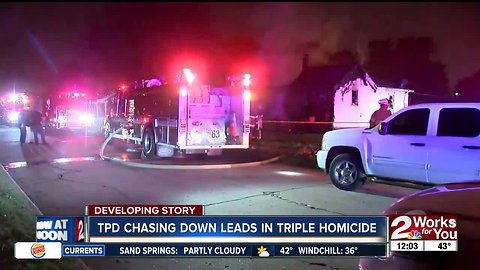 Officials continue investigation into north Tulsa house fire in which three people died