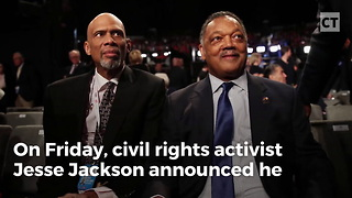 Jesse Jackson Diagnosed With Parkinson's - Video