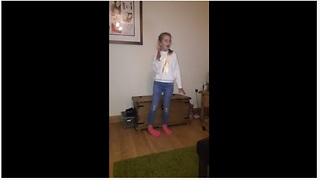 Listen How This 9-Year-Old Girl Slays 'Don't Rain On My Parade'
