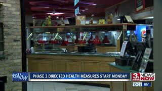 Phase 3 Directed Health Measures start Monday