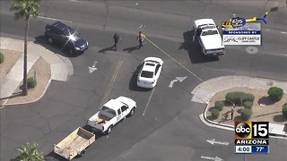 Shooting reported at bus stop in Phoenix