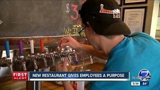 New restaurant gives employees a purpose - Video