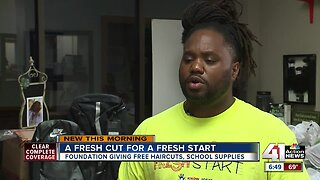 A fresh cut for a fresh start: Free haircuts for kids