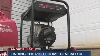 Angie's List: Finding the right generator - Video