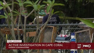 Conitnued coverage: Active police investigation at a Cape Coral home