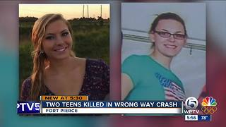 Friends remember teens killed in St. Lucie County wrong-way crash - Video