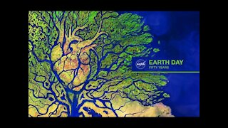 Earth Day Poster - Combining Art and Science