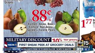 First sneak peek at grocery store deals this week! - Video