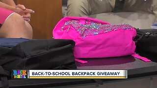 Free backpack giveaway today