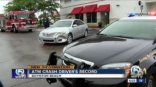 New info on driver who hit 2 people at ATM