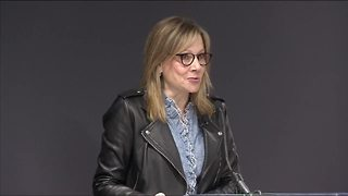 GM CEO Mary Barra named Fortune's Most Powerful Woman for third year - Video